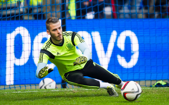 David de Gea could be handed Man United reprieve for crucial Liverpool clash