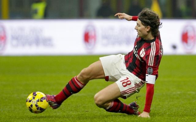 Arsenal made summer move for AC Milan midfielder Riccardo Montolivo but line up January bid for Italian international striker