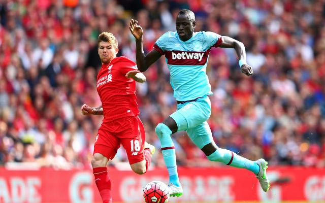 Tottenham plot £15m bid for West Ham stalwart as potential Victor Wanyama alternative