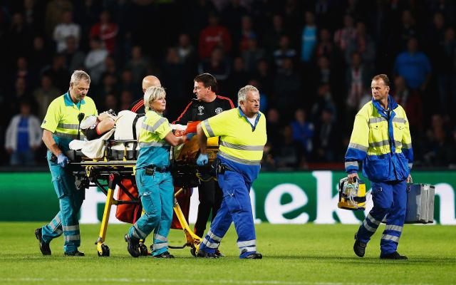 Louis van Gaal admits Man United star was reduced to tears following sickening challenge