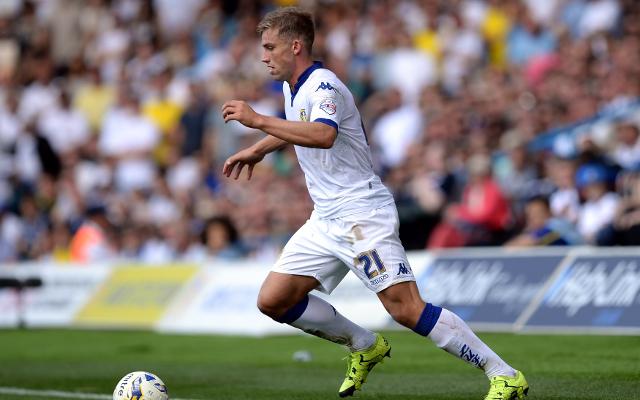 Man United plot £4m bid for Leeds United prospect Charlie Taylor