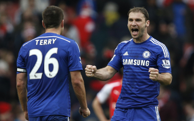Fenerbahce plotting swoop for Chelsea pair John Terry and Branislav Ivanovic
