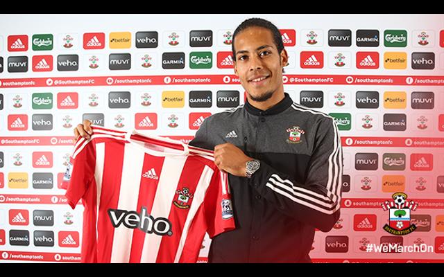Done deal: Southampton confirm signing of Celtic defender Virgil van Dijk