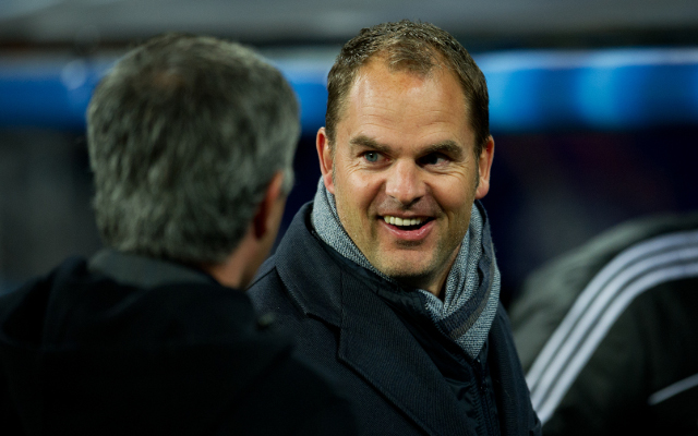 Frank de Boer puts pressure on Brendan Rodgers with message to Liverpool bosses