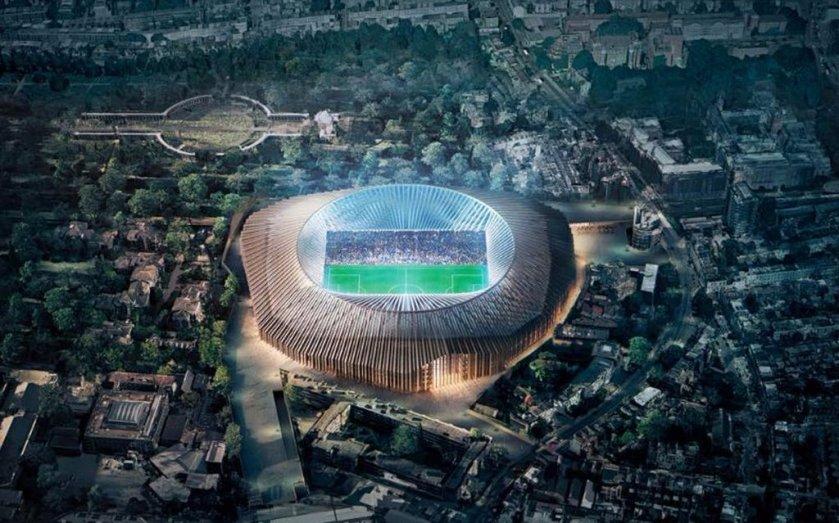 Twitter trolls Chelsea on their new stadium design