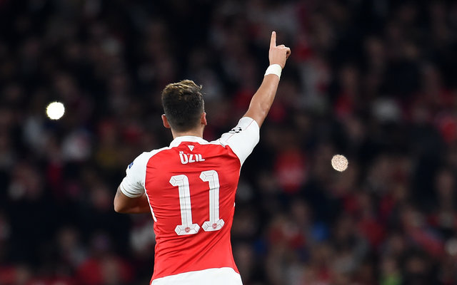 Mesut Ozil is no longer Europe's king of assists