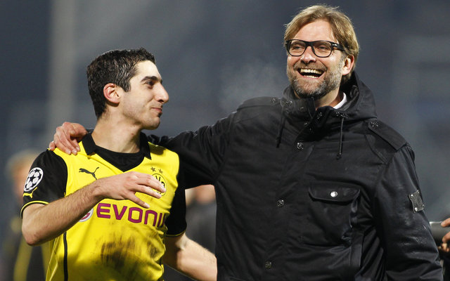 "Mkhitaryan: ""Jurgen Klopp was not attacking enough"""