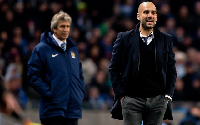 Pep Guardiola gives his players a dressing down following Southampton draw