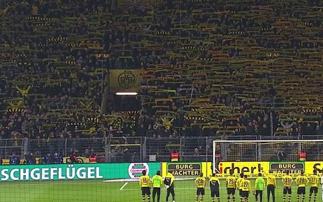 "Grieving Borussia Dortmund fans perform amazing ""You'll never walk alone"" [Video]"