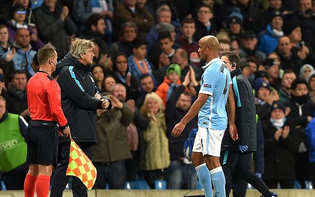 Stats suggest Manchester City are doomed without Vincent Kompany