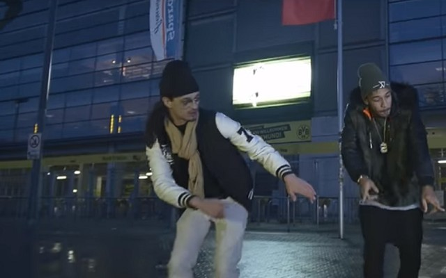 Superstar striker features in rap video, dancing to song about himself
