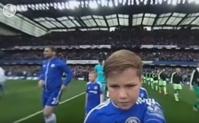 Chelsea post amazing mascot cam video which YOU are able to turn 360 degrees