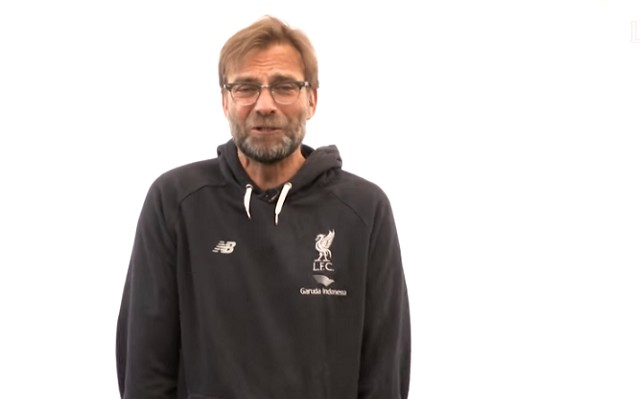 Jurgen Klopp joins Liverpool stars in a very funny video