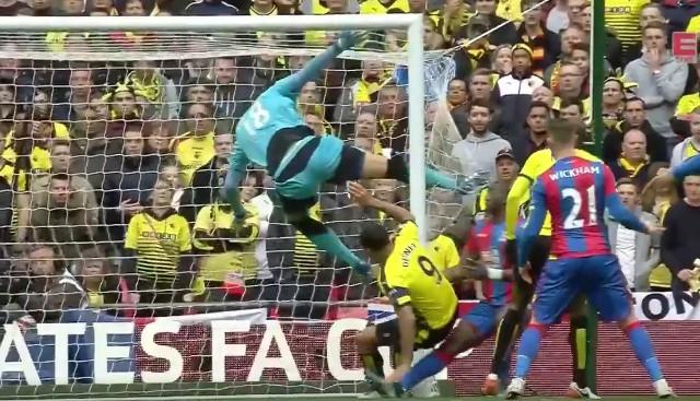 ICYMI: Costel Pantilimon's Kung Fu kick in FA Cup semi-final [Video]