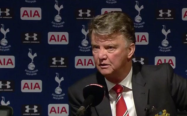 Louis Van Gaal had some harsh words for Tottenham and journalist [Video]