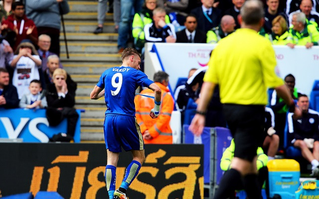 Jamie Vardy's famous last words against West Ham could derail Leicester's title push [Tweets]