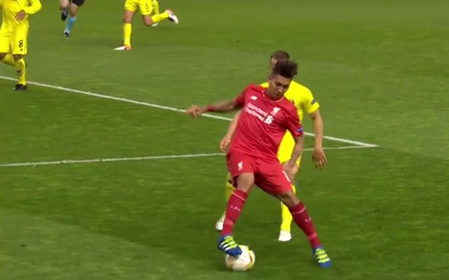 Roberto Firmino dazzled at Anfield with this killer move [Video]