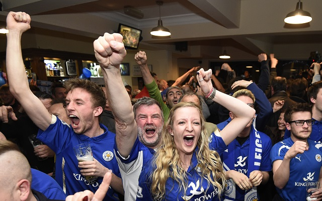 Best bits from Twitter about Leicester City's title triumph
