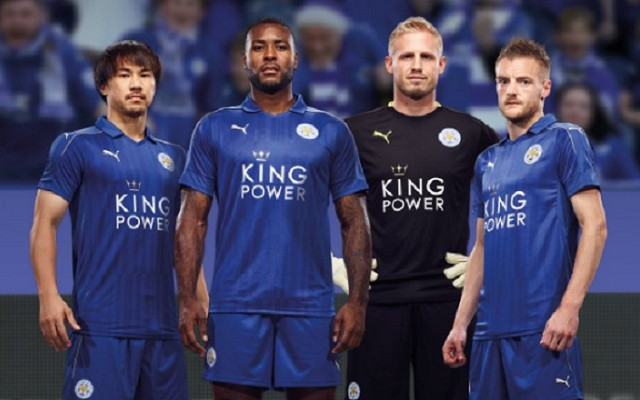 Leicester City present their new Premier League champions home kit [Video]