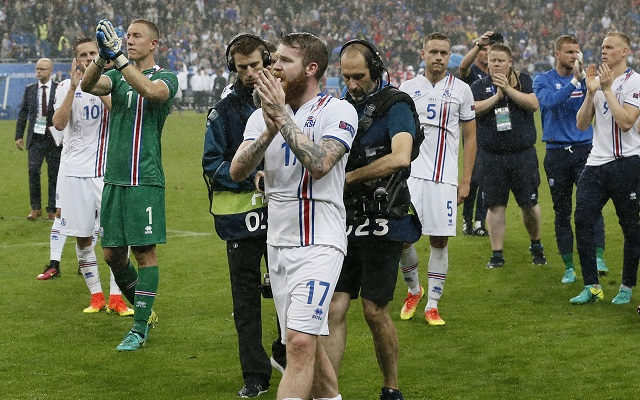 Continuity in selection underlies Iceland's Euro 2016 journey
