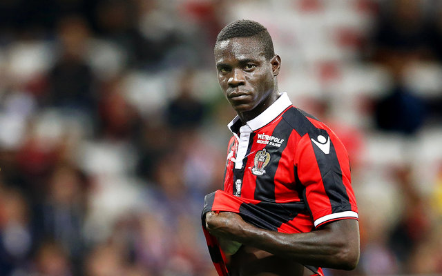 Another brace from Liverpool reject Mario Balotelli propels Nice to the summit of Ligue 1