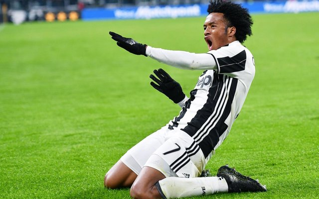 Cuadrado scores a stunner in the Serie A clash with Inter