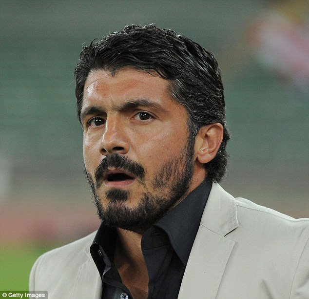 AC Milan Appoint Club Legend Gattuso as Interim Manager