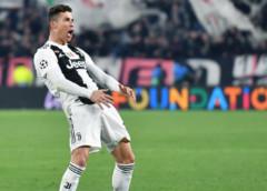 Juventus forward Cristiano Ronaldo fined by Uefa over goal celebration