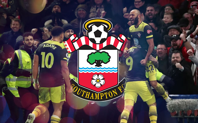 Southampton Players Celebrating on Field