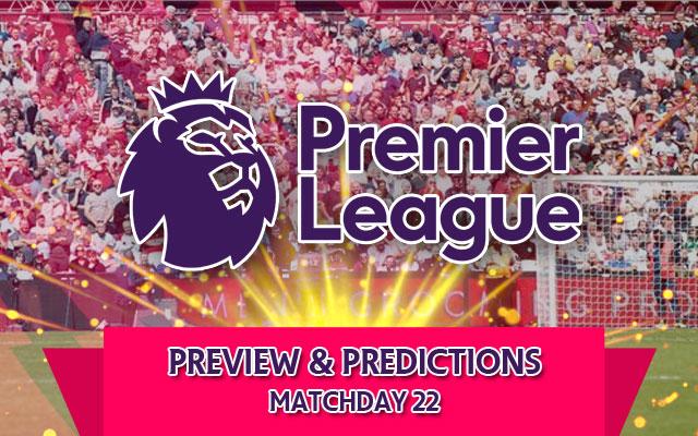 Premier League Logo Matchday 22