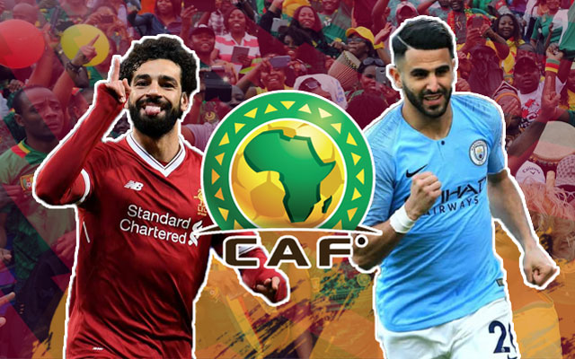Mo Salah and Riyad and Mahrez AFCON 2021