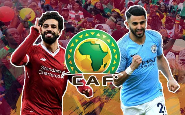 Mo Salah and Riyad and Mahrez AFCON 2021
