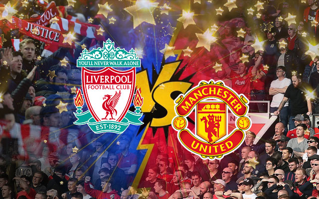 Liverpool and Manchester United Logos