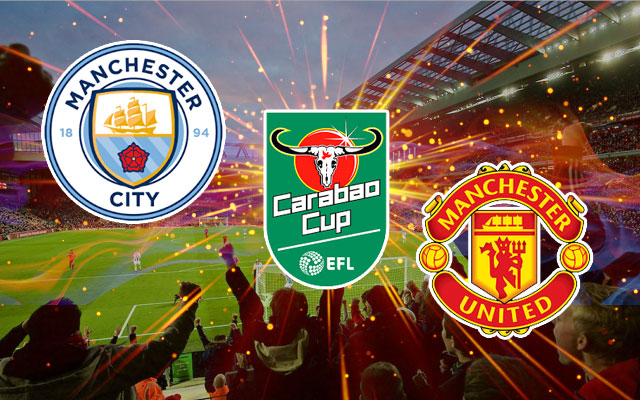Manchester City, Manchester United and Carabao Cup
