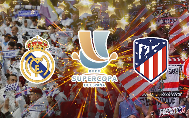 Real Madrid vs Atletico Madrid RFEF SuperCopa De Espana
