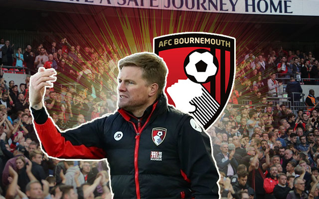 Eddie Howe and AFC Bournemouth Logo