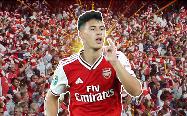 Arsenals Gabriel Martinelli