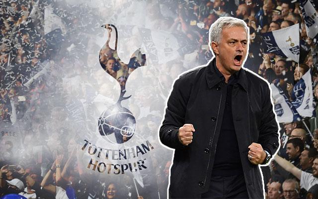 Jose Mourinho and the Tottenham Hotspur Logo