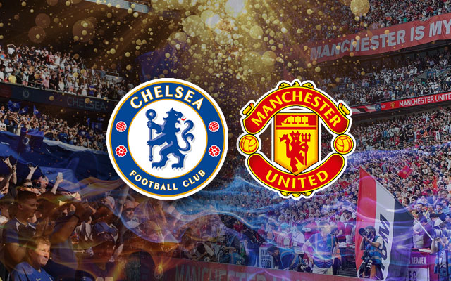 Chelsea and Manchester United Logos