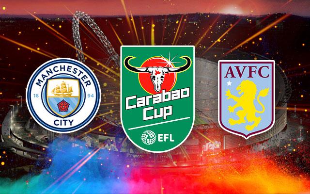 Manchester City Aston Villa Carabao Cup EFL