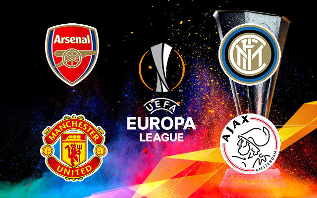 Arsenal, Manchester United AJAX and Inter Milan Logos