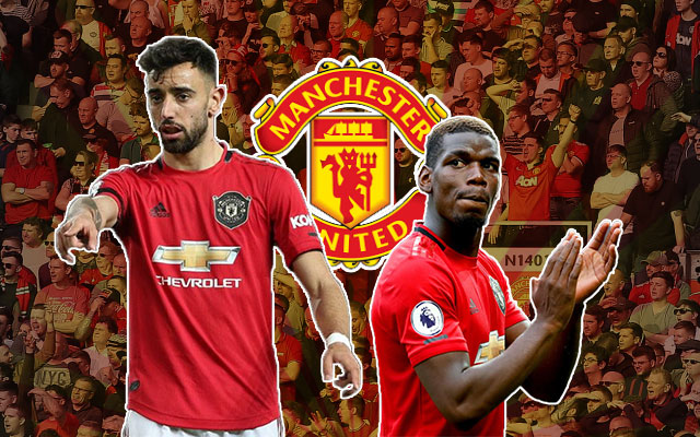 Bruno Fernandes Paul Pogba Manchester United