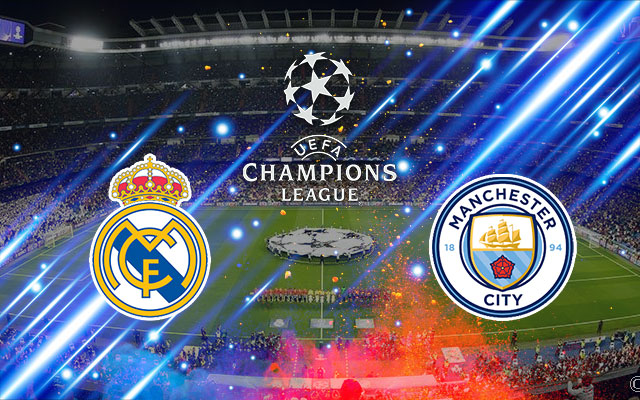 Real Madrid Manchester City UEFA Champions Leauge