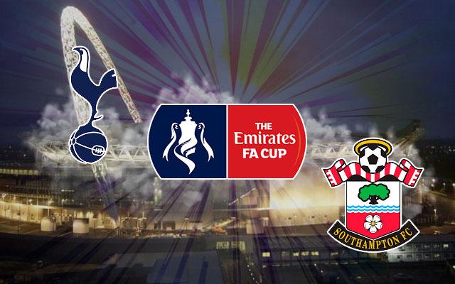Tottenham Hotspur vs. Southampton FA Cup