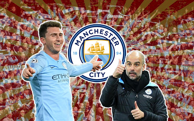 Aymeric Laporte Pep Guardiola Manchester City
