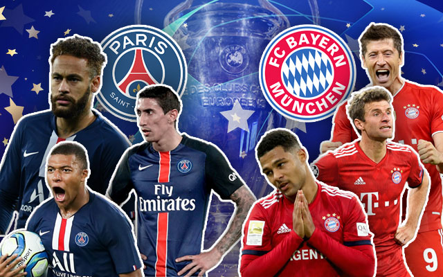 PSG Bayern Munich Champions League