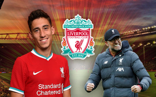 Liverpool Logo Kostas Tsimikas Jurgen Klopp